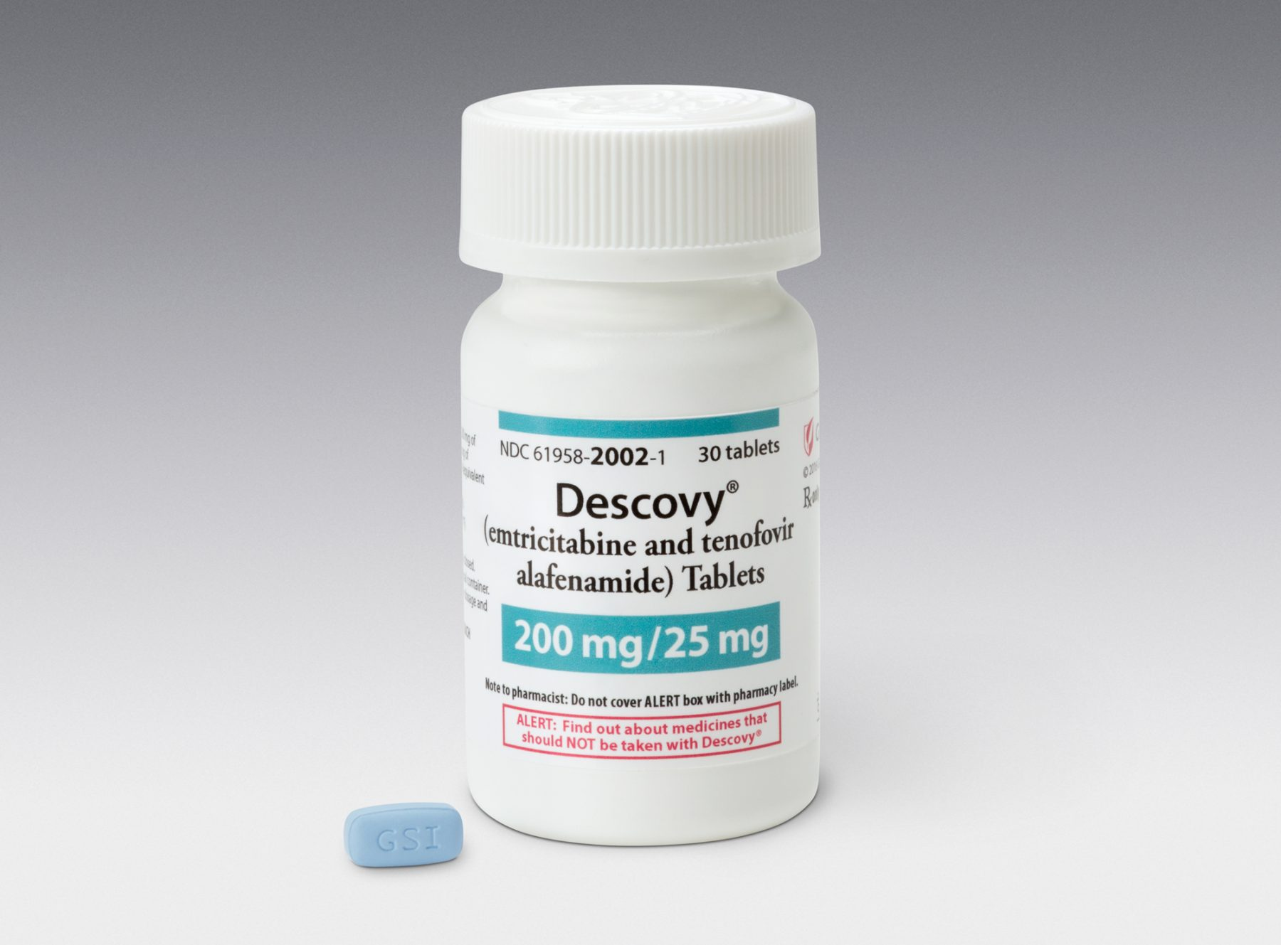 Descovy bottle tablet
